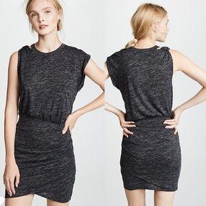 NWT IRO Plush Dress Mixed Grey Size Small